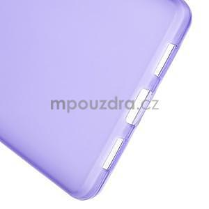 Fialový matný gelový obal pro Huawei Ascend P8 Lite - 5