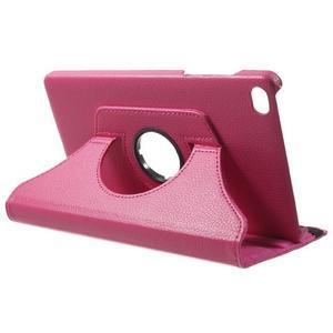 Otočné polohovatelné pouzdro na Huawei MediaPad M2 - rose - 5