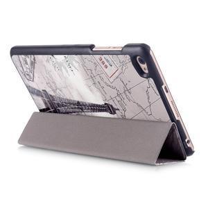 Třípolohové pouzdro na tablet Huawei MediaPad M2 8.0 - Eiffelova věž - 5