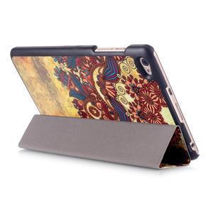 Třípolohové pouzdro na tablet Huawei MediaPad M2 8.0 - henna - 5