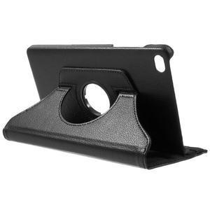 Otočné polohovatelné pouzdro na Huawei MediaPad M2 - černé - 5