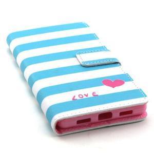 Standy peněženkové pouzdro na Huawei P8 Lite - láska - 5
