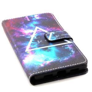 Standy peněženkové pouzdro na Huawei P8 Lite - triangle - 5