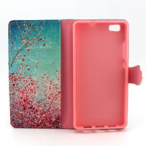 Emotive pouzdro na mobil Huawei P8 Lite - kvetoucí švestka - 5