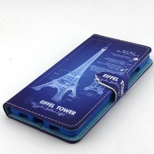 Emotive pouzdro na mobil Huawei P8 Lite - Eiffelova věž - 5