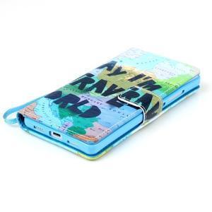 Picture PU kožené pouzdro na Huawei P8 Lite - world - 5