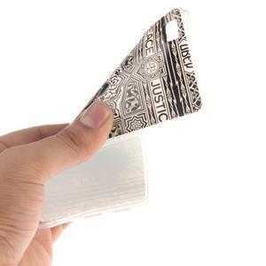 Flexi gelový obal na mobil Huawei P8 Lite - retro mandala - 5