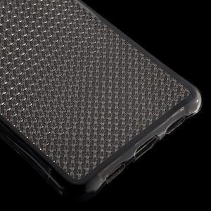 Diamonds gelový obal na Huawei P8 Lite - šedý - 5