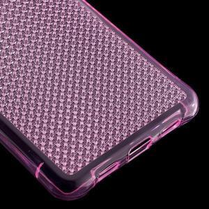 Diamonds gelový obal na Huawei P8 Lite - rose - 5