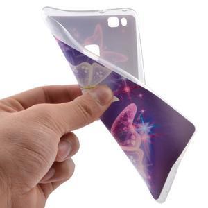 Ultratenký gelový obal na Huawei P9 Lite - kouzelní motýlci - 5