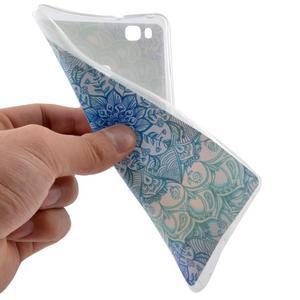 Ultratenký gelový obal na Huawei P9 Lite - mandala - 5