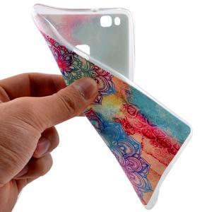 Ultratenký gelový obal na Huawei P9 Lite - henna - 5