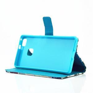 Knížkové pouzdro na mobil Huawei P9 Lite - vlaštovka - 5