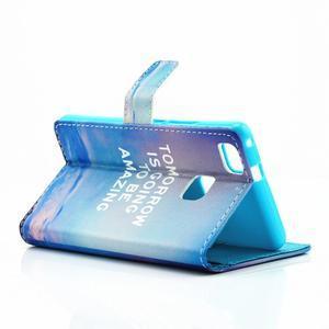 Knížkové pouzdro na mobil Huawei P9 Lite - tomorrow - 5