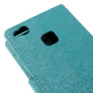Easy peněženkové pouzdro na mobil Huawei P9 Lite - modré - 5