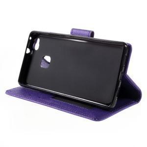 Easy peněženkové pouzdro na mobil Huawei P9 Lite - fialové - 5