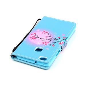 Emotive pouzdro na mobil Huawei P9 Lite - květoucí svěstka - 5