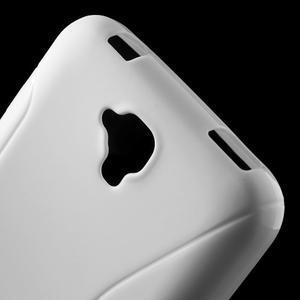 S-line gelový obal na mobil Huawei Y5 a Y560 - bílý - 5