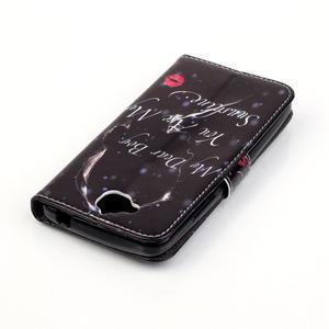 Knížkové pouzdro na mobil Huawei Y6 Pro - dear - 5