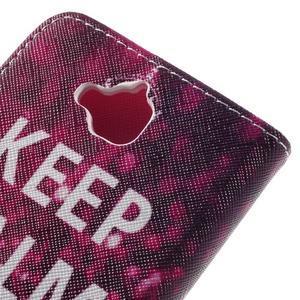 Emotive peněženkové pouzdro na mobil Huawei Y6 Pro - Keep Calm - 5