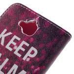 Emotive peněženkové pouzdro na mobil Huawei Y6 Pro - Keep Calm - 5/7
