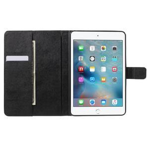 Stylové pouzdro na iPad mini 4 - modrý motýl - 5