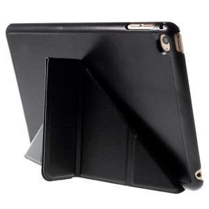 Origami polhovatelné pouzdro na iPad mini 4 - černé - 5