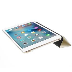 Origami polhovatelné pouzdro na iPad mini 4 - bílé - 5