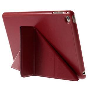 Origami polhovatelné pouzdro na iPad mini 4 - červené - 5