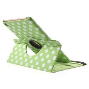 Cyrc otočné pouzdro na iPad mini 4 - zelené - 5