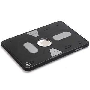 Outdoor dvoudílný gelový/plastový obal na iPad mini 4 - stříbrný - 5