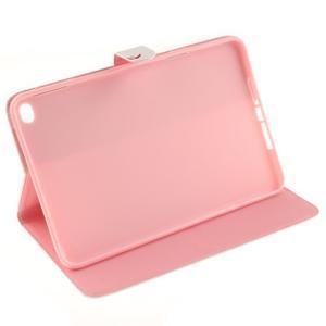 Standy pouzdro na tablet iPad mini 4 - ptačí peříčko - 5