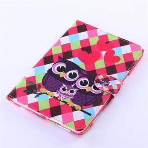 Knížkové pouzdro na tablet iPad mini 4 - zamilované sovičky - 5