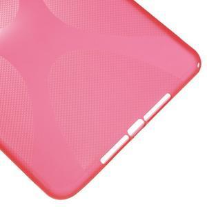 X-line gelový obal na tablet iPad mini 4 - červený - 5