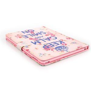 Knížkové pouzdro na tablet iPad mini 4 - Keep Calm - 5
