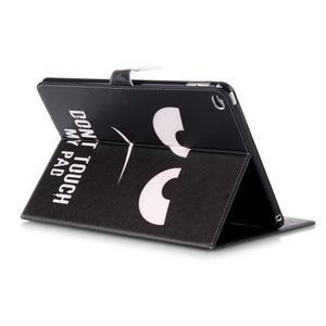 Knížkové pouzdro na tablet iPad mini 4 - nešahat - 5