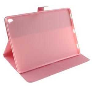Knížkové pouzdro na tablet iPad Pro 9.7 - barevní peříčka - 5
