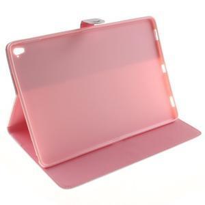 Knížkové pouzdro na tablet iPad Pro 9.7 - ptačí peříčko - 5