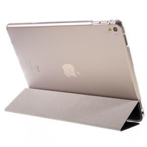 Trifold polohovatelné pouzdro na tablet iPad Pro 9.7 - černé - 5