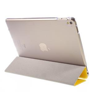 Trifold polohovatelné pouzdro na tablet iPad Pro 9.7 - žluté - 5