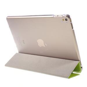 Trifold polohovatelné pouzdro na tablet iPad Pro 9.7 - zelené - 5