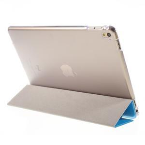 Trifold polohovatelné pouzdro na tablet iPad Pro 9.7 - modré - 5