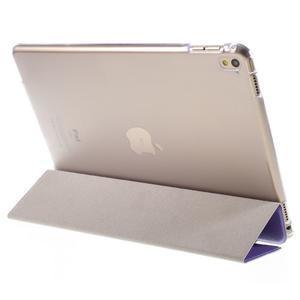 Trifold polohovatelné pouzdro na tablet iPad Pro 9.7 - fialové - 5