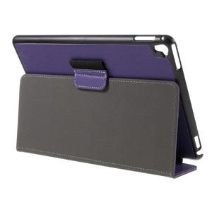 Clothy PU kožené pouzdro na iPad Pro 9.7 - fialové - 5