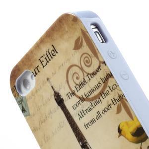 Gelový obal na iPhone 4 - Eiffelova věž - 5