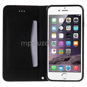 Klopové pouzdro na iPhone 6 a iPhone 6s - černé - 5