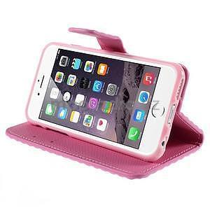 Cool style pouzdro na iPhone 6s a iPhone 6 - růžové - 5