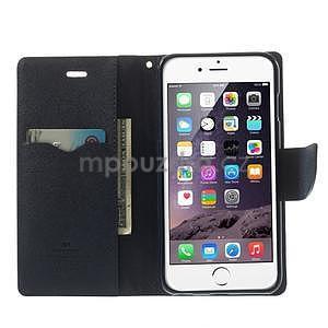 Peněženkové pouzdro pro iPhone 6 Plus a 6s Plus - červené - 5