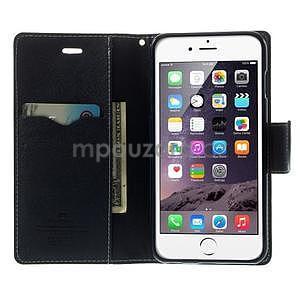 Peněženkové pouzdro pro iPhone 6 Plus a 6s Plus - zelené - 5