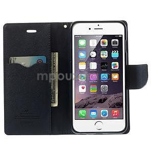 Peněženkové pouzdro pro iPhone 6 Plus a 6s Plus - fialové - 5